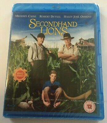 Secondhand Lions Blu-Ray. New and factory sealed. Region B UK release.