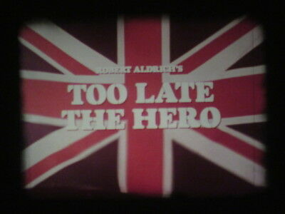 Too Late The Hero, Michael Caine, Super 8 240M, Vo.