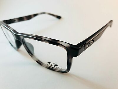 1331d8b608 Authentic Oakley Eyeglasses OX 8108 04 53 135mm Fin Box Polished Gray  Tortoise