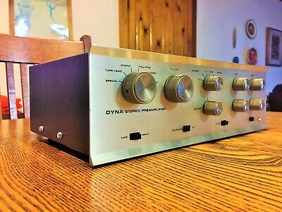 Dynaco PAS 3 Stereo TUBE Preamp w/phono Factory Wired and Tested 19-2 Clean!