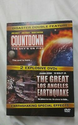 COUNTDOWN THE SKY'S ON FIRE & THE GREAT LOS ANGELES EARTHQUAKE [ 2 DVD Set]