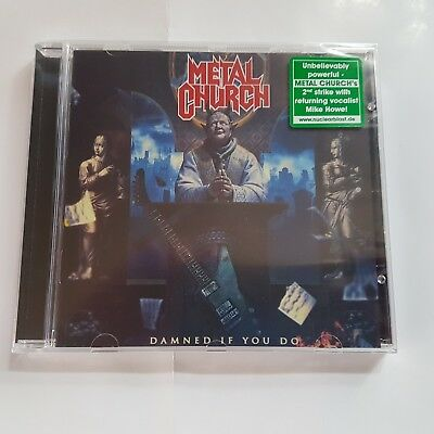 Metal Church - Damned If You Do - CD -NEW ALBUM
