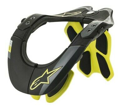 Alpinestars BIONIC TECH 2 Yellow NECK/SPINE SUPPORT Armour Motocross MX Off-Road