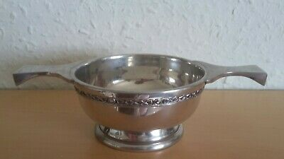 Art Pewter Silver. Made on Scotland. Loving Cup/Bowl