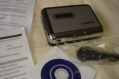 Aspect 2 cassette tape to mp3 convertor player, boxed, unused