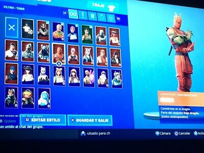 Raffle Account Op Stats Skins Seasons 6-7-8 Save The World 131 Ginger Blaster 58