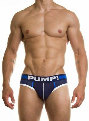 Blue Steel Brief Mens Underwear PUMP