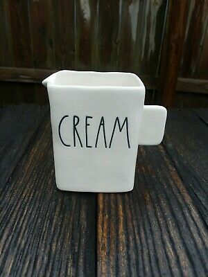 "RAE DUNN ""CREAM"" PiTcHeR~ NWOT"