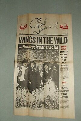 Paul McCartney  WINGS CLUB SANDWICH   June/July 1978  No. 9  WINGS IN THE WILD
