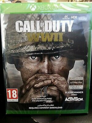 Xbox One-Call of Duty: WW2 (English/Arabic Box) ~ Sealed