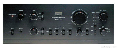 Sansui AU-719 Complete Restoration and Repair Service with Warranty