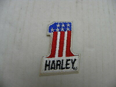 HARLEY #1 Stars & Stripes Patch Small