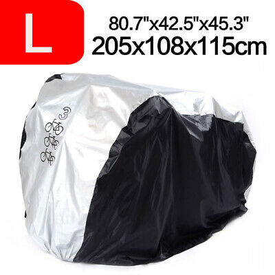 Large Waterproof Polyester Bicycle Cycle Bike Cover Outdoor Rain Dust Protector