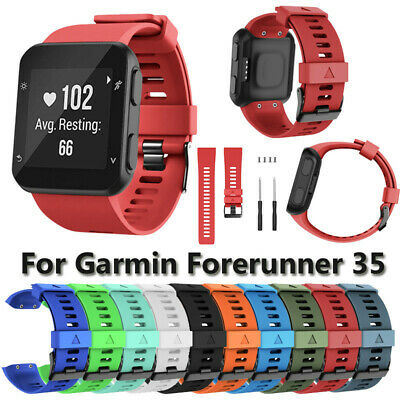 Sports Silicone Replacement Wristband Watch Band Strap for Garmin Forerunner 35