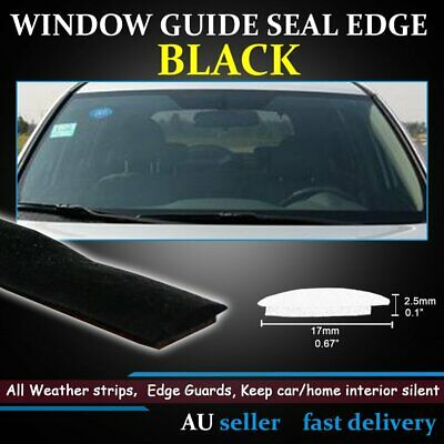 Auto Windscreen Window Rubber Edging Trim Waterproof Seal Weatherstrip 6M 17mm