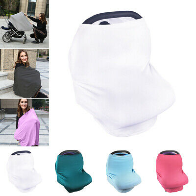 Stretchy Cover Breastfeeding Privacy Canopy Scarf Blanket More Colors Portable