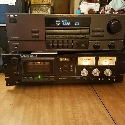 Tascam 112MKII Pro Cassette Tape Deck Stereo Vintage Recorder