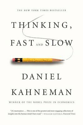Thinking, Fast and Slow By Daniel Kahneman - Instant Delivery