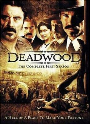 Deadwood: Complete HBO Season 1 [2004] [DVD] By Timothy Olyphant,Ian McShane.