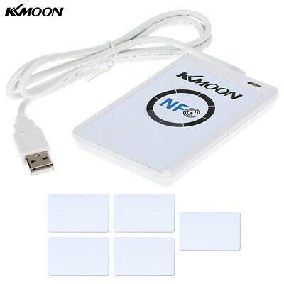 KKmoon ACR122U NFC RFID Contactless Smart Reader & Writer/USB+SDK+IC Card S8V4