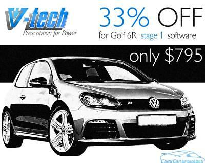 VW Golf 6 R 188kW Turbo Petrol ECU Remap +58bhp +71Nm Chip Tuning