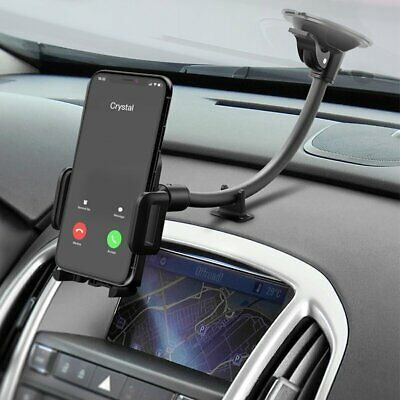 Mpow 360° Long Arm Mount Holder Car Windshield Stand for Mobile Cell Phone New