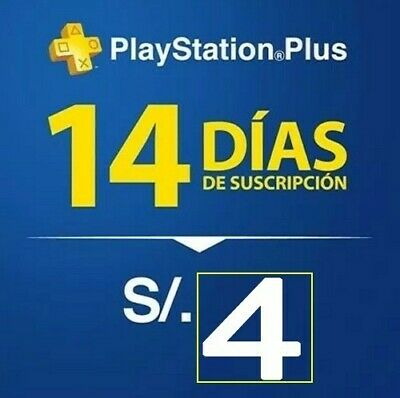 PSN PLUS 14 DAY - PS4 - PS3 - PS Vita - PLAYSTATION NO.CODE