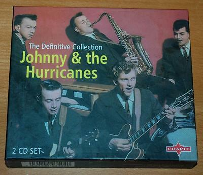 Johnny & The Hurricanes - The Definitive Collection - 1996 UK Charly 2 CD Set