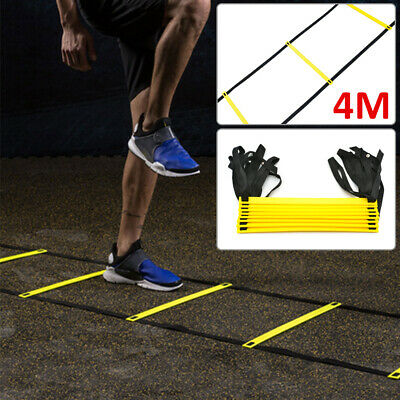 4M Speed Agility Fitness Training Ladder Soccer Sports Footwork Practise