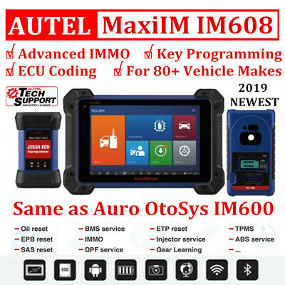 Autel MaxiIM IM608 Diagnostic Key Programming ECU Coding Tool as OtoSys IM600 CA