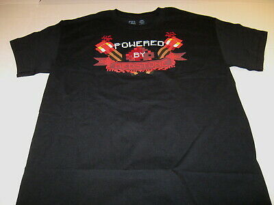8e5bc3b72 Minecraft Powered By Redstone - Officially Licensed Mojang Jinx T-Shirt  New! MED