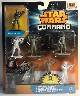 HASBROB0835 STAR WARS COMMAND  Imperial Assault 9 Fig.