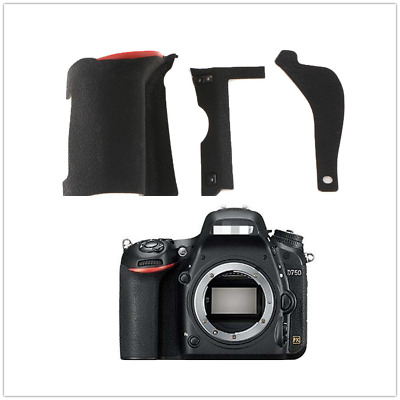 For Nikon D750 Camera DSLR Replacement Parts Grip/Thumb/Side Rubber Cover New