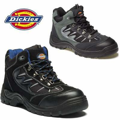 Mens Dickies Storm Safety Work Boots Size Uk 4 - 12 Steel Toe Cap Fa23385A