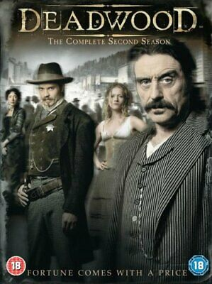 Deadwood : Complete HBO Season 2 [DVD] By Ian McShane,Timothy Olyphant.