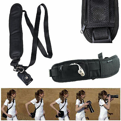 Rapid Camera Sling Belt Shoulder Neck Strap Belt For SLR DSLR Nikon Canon Sony