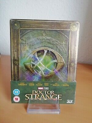 MARVELS - DOCTOR STRANGE 3D-2D Blu Ray Steelbook Limited Edition Neu & OVP OOP