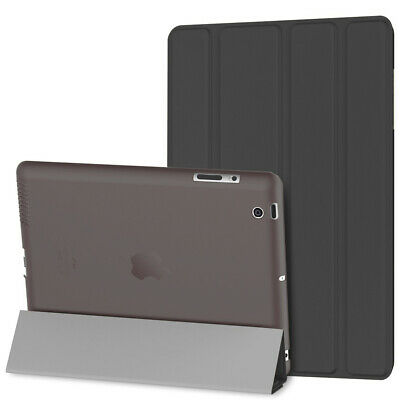 Shockproof Smart Stand Cover Case for iPad 2/3/4 iPad, Lightweight Auto Sleep