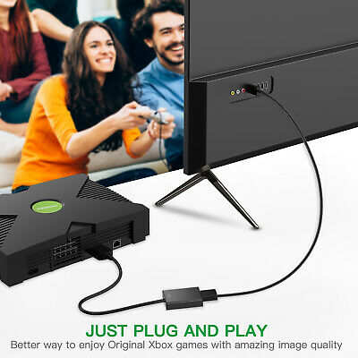 (HDMI) Link Cable for Original Xbox System No-Mods Required HDMI Converter Line