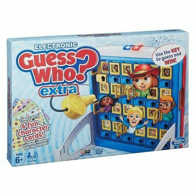 Hasbro B2226 Guess Who Extra? Electronic Board Guessing Game