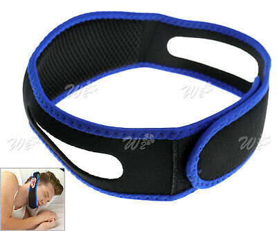 Unisex Stop Snoring Chin Strap Anti Snore Belt Apnea Jaw Support Solution Sleep