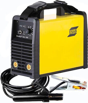 ESAB Buddy Arc 180 Amp Stick Live Tig Welder Inverter MMA/ARC FREE UK/IRE SHIP