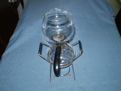 vintage glass coffee maker, cona style