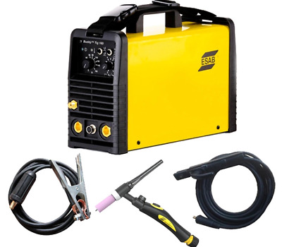 Esab Buddy Tig 160amp High Frequency Tig Welder 220v Torch FREE UK/IRE SHIPPING