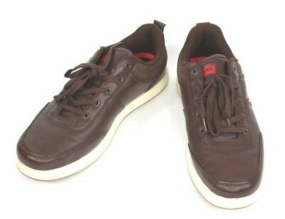 f0aa4eed06eb4 LEVI'S SHOES SYNTHETIC Leather Brown Mens Size 11 Model 517730F99 ...
