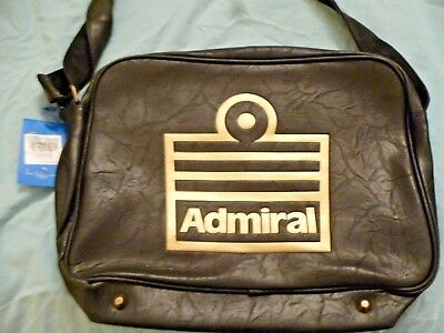 Brand New Admiral Bag with shoulder strap Black with Gold Logo