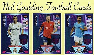 Match Attax CHAMPIONS LEAGUE ROAD TO MADRID 2018-2019 ☆ LIMITED EDITION CARDS ☆