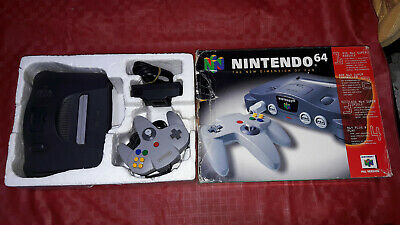 nintendo 64 n64 console pal boxed