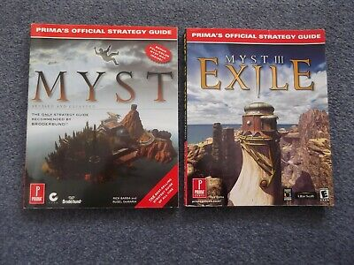 MYST and MYST EXILE Official Strategy Guides