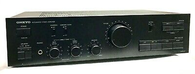 Vintage Onkyo Model A-8037 Integrated Amplifier Made In Japan Tested